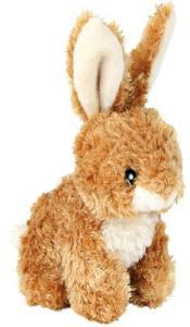 ZABAWKA pluszowy królik siedzący