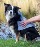 Super szary ręcznik Trixie dla psa TOP-FIX