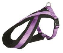 Szelki (trixie) PREMIUM z podszewką w kolorze fioletowym