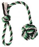 ZABAWKA bawełniana piłka na sznurku